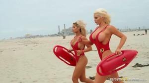 Bridgette B, Nicolette Shea - BabeZZ Watch: A XXX Parody, HD, 720p