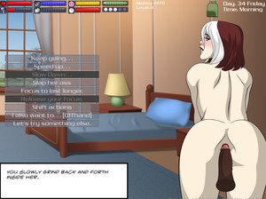 This adult game takes place several years after the tv series ends, and features a new student to the