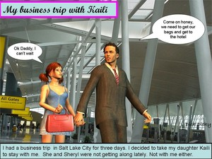 Dick Dicky My business trip with Kaily 3D Adult Comics