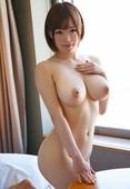 Busty Asian beauty naked