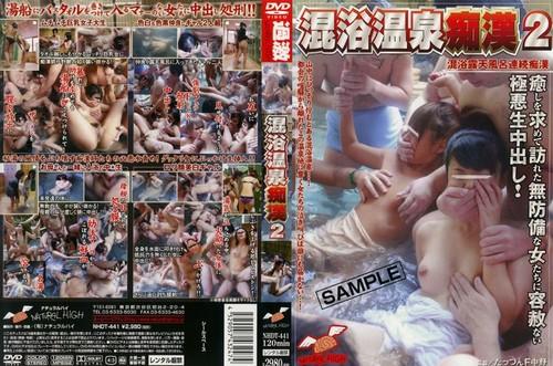 NHDT-441 Molester 2 Mixed Bathing