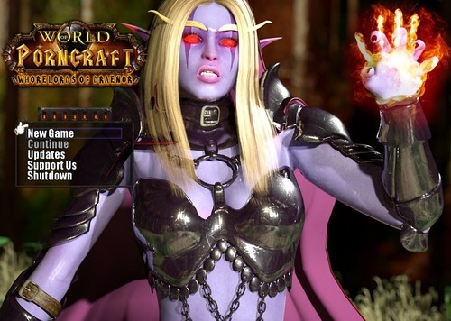World of Porncraft: Whorelords of Draenor - [Version 2.3 VIP] [Update]