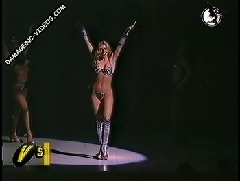 Monica Ayos hot body in showgirl outfit