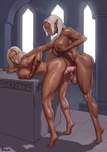 DickGirls Artwork Collection by Vitalis COMIC