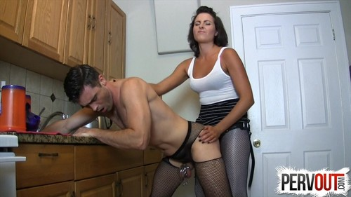 Sissy Fucked In The Kitchen