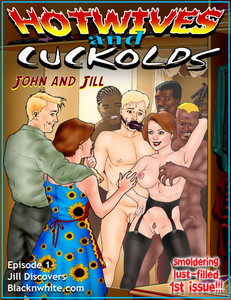 Black-n-White - hotwives cuckold part 1-3 Adult Comics