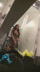 Caught spying in dressing room with cam