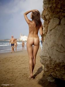 Karina Ibiza nude beach