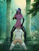 World of Warcraft Futanari (mixed)