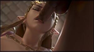 Zelda blowjob