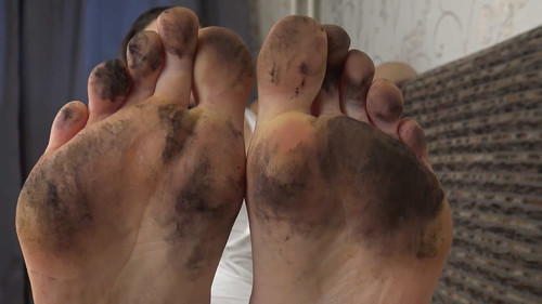 Veronika - dirty foot worship Full HD