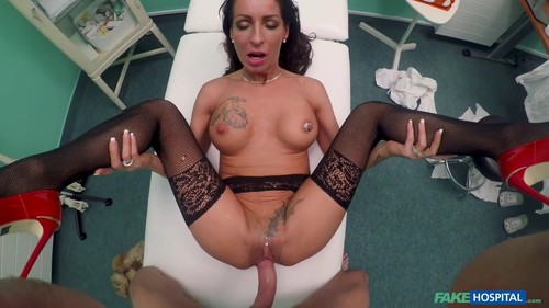 [FakeHospital / FakeHub] Valentina Sierra - Sexy Fur Clad Patient Wants Fucking (03.01.2018) [2018 , POV, MILF, Pantyhose, Stockings, Brte, Tattoo, Piercing, Big Tits, Shaved Pussy, Big Cock, Blowjob, Deep Throat, Doggystyle, Gonzo, Hardcore, All Sex
