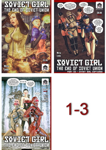 Soviet Girl - The End of Soviet Union 01-03 Cover