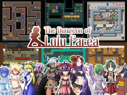 Galaxy Wars - The Dungeon of Lulu Farea -Kill, Screw, Marry!- - Version 2.00 Completed