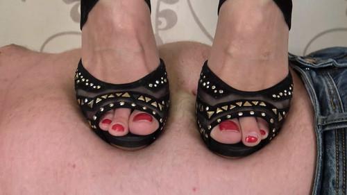 Jasmine - soft carpet for my heels! Full HD