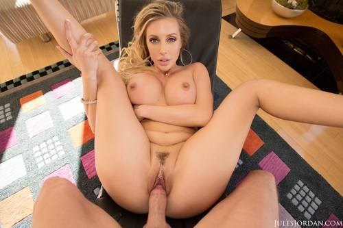 [JulesJordan] Samantha Saint (Samantha Saint Gets Blessed With A POV Facial From Jules Jordan In 4K) [2015 , Big Cocks, Big Tits, Blondes, Blowjobs, Deep Throat, Facial, POV, 360p]