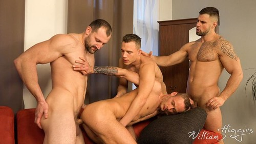 WilliamHiggins – Wank Party #105 Part 2 Raw (Hugo Antonin, Leo Lombar, Pavel Sora, Roman Baren)