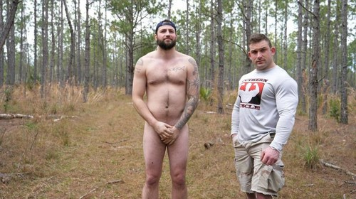 TheGuySite – Bare Ass Embarrassed in the Woods (Eli & Jack)