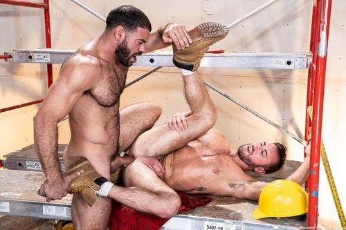 RagingStallion – Raw Construction: Ricky Larkin & Grant Ryan Bareback