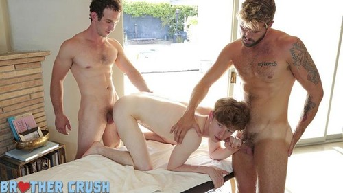 BrotherCrush – Sleep Massage (Wesley Wood, Greg McKeon & Felix Maze) Bareback