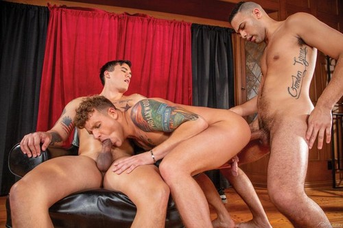 Falcon – The Pledge: Brandon Wilde, Tyson Rush & Trevor Miller Bareback